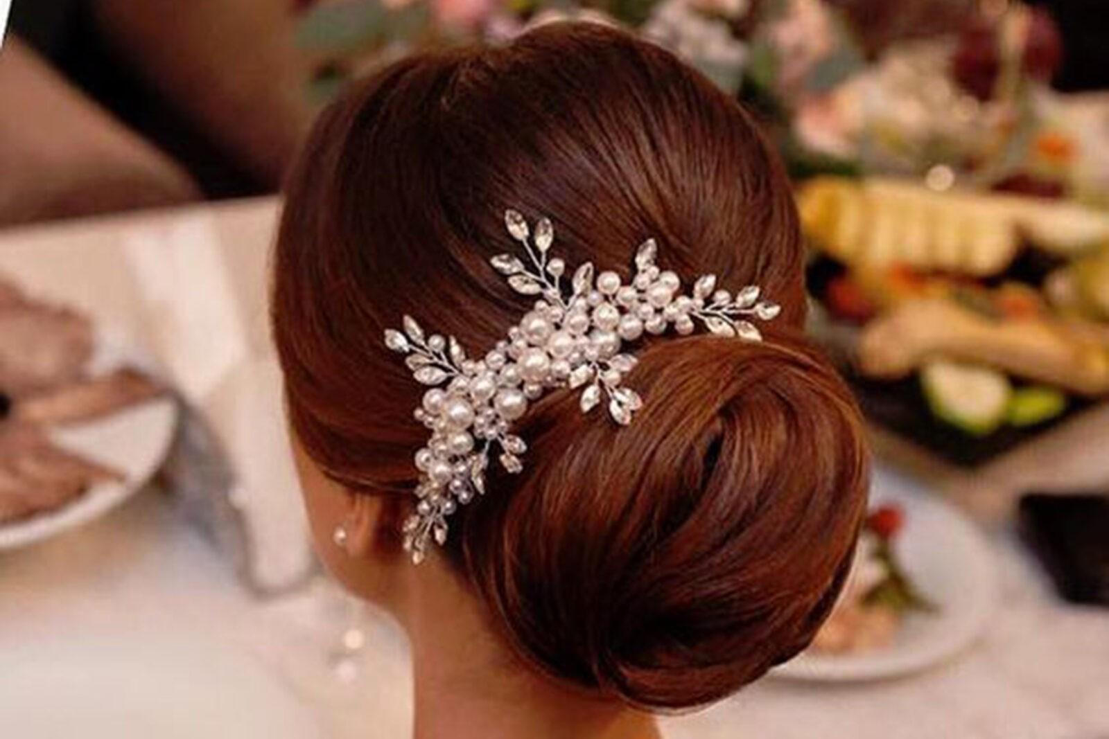 8b0fc2bcee Sok gyöngyös menyasszonyi fésű kristály ágakkal | Mke Shop - Egyedi ...